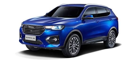 Great Wall Haval H6 Suv Unveiled Might Rival Hector Harrier