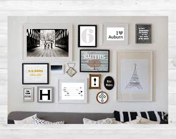 15 best My Gallery Wall images on Pinterest | Gallery wall, Art ...