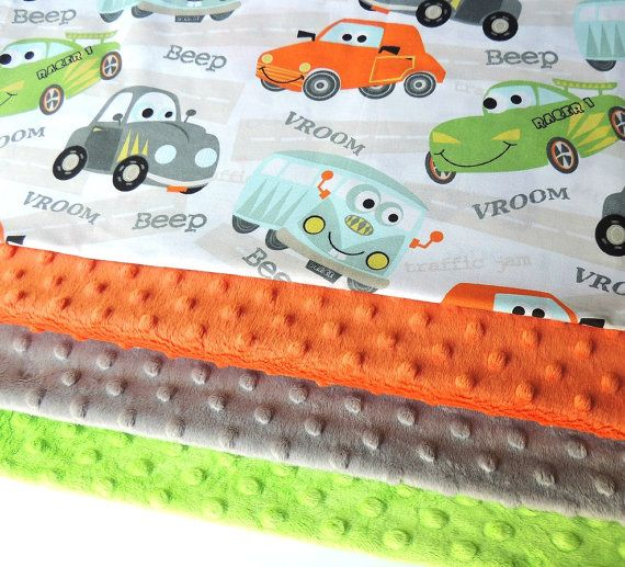 Car Minky Blanket MADE TO ORDER Car Blanket  by charlottechicstore