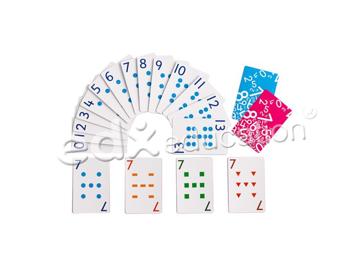 Child Friendly Playing Cards #edxeducation #learnbyplay #mathmanipulatives #learningisfun