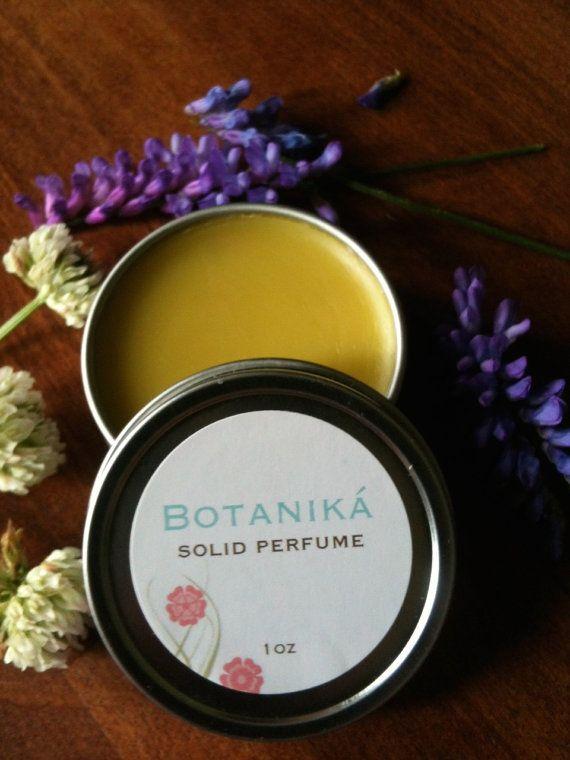LAVENDER SOLID PERFUME  Lavender Dreams Calming by BotanikaBeauty, $7.95