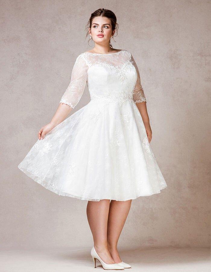 Wedding Dresses Tea Length Wedding Dress Short Wedding Gowns Wedding Dresses