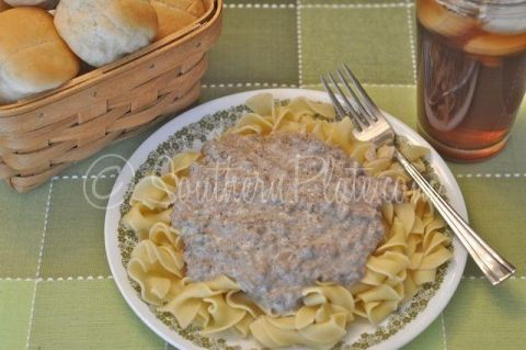 Quick & Easy Beef Stroganoff and Where I'm From ~ http://www.southernplate.com
