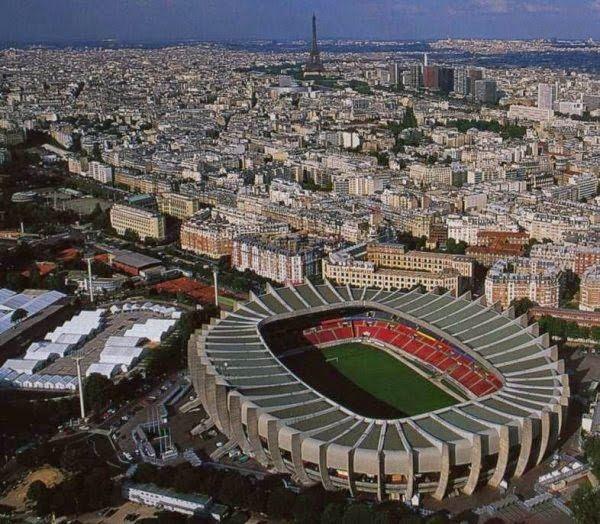 Estadio Parque de los Principes, lugar de la final de la Recopa del 10-5-1995