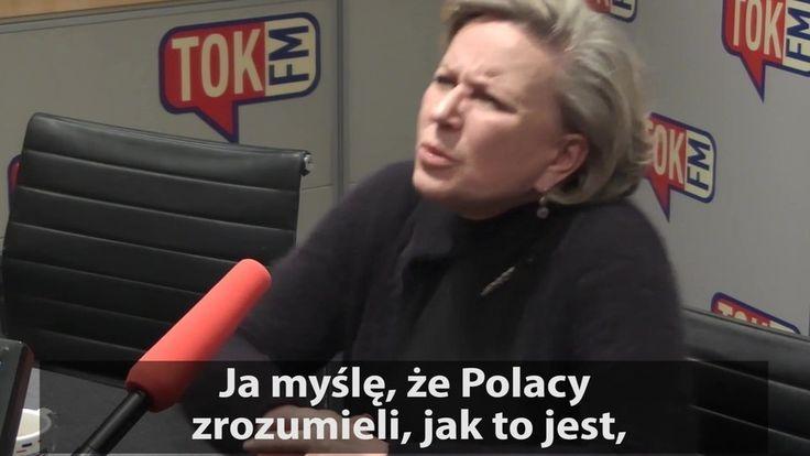 """""""Nie wolno milczeć""""  Krystyna Janda w TOK FM: """"Nie wolno się zgadzać na to co jest niesłuszne. Jakoś nie mogę siedzieć cicho. No jak? Nie umiem"""" #czarnyprotest #Janda #KrystynaJanda #człowiekzmarmuru #polityka #społeczeństwo #radio #tokfm #radiotokfm #Polska #TOKFM"""