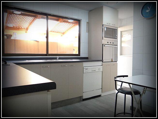 muebles areos enchapados con textura muebles base enchapados sin textura tiradores metlicos cubierta postformada con cocina empotrada muebleu