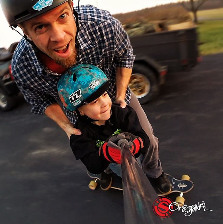 Family vibes and fun times on the Original Skateboards Apex 40 DC. Photo: Zach Harper  See the board: http://originalskateboards.com/longboards/apex40longboard