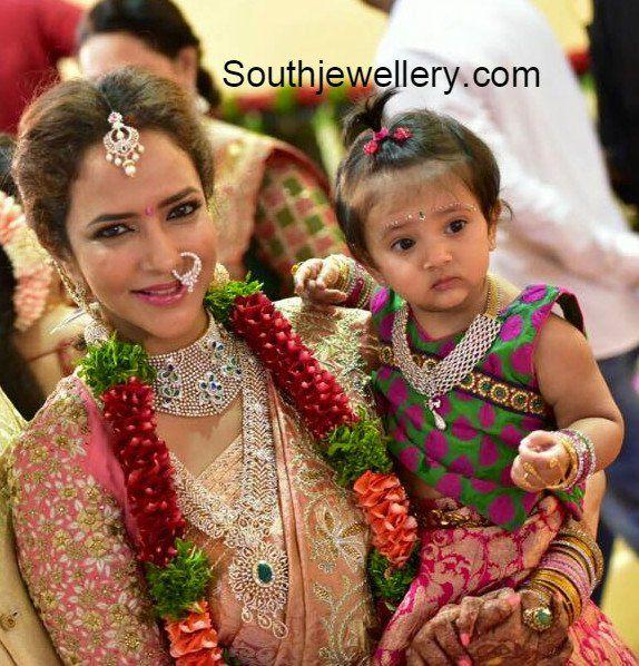 Lakshmi Manchu in Stunning Jewellery at Manojs Wedding photo
