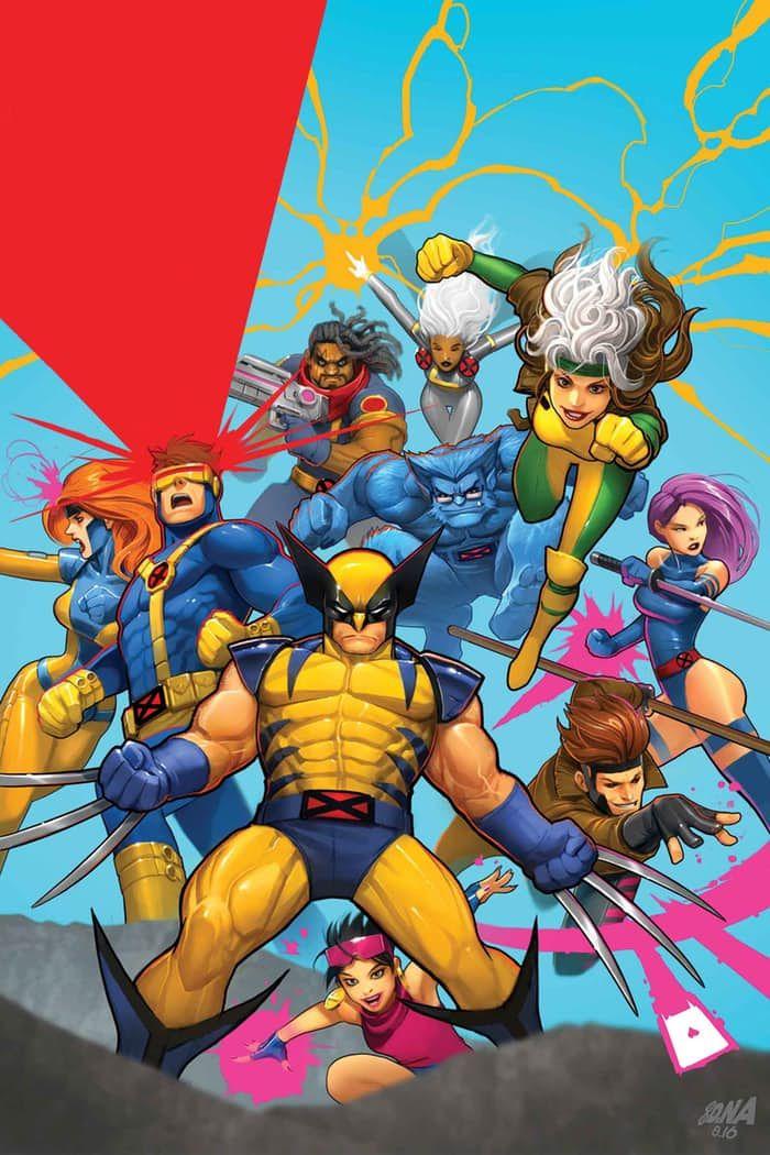 X-Men '92 Vol 2 #10 (2016) - David Nakayama
