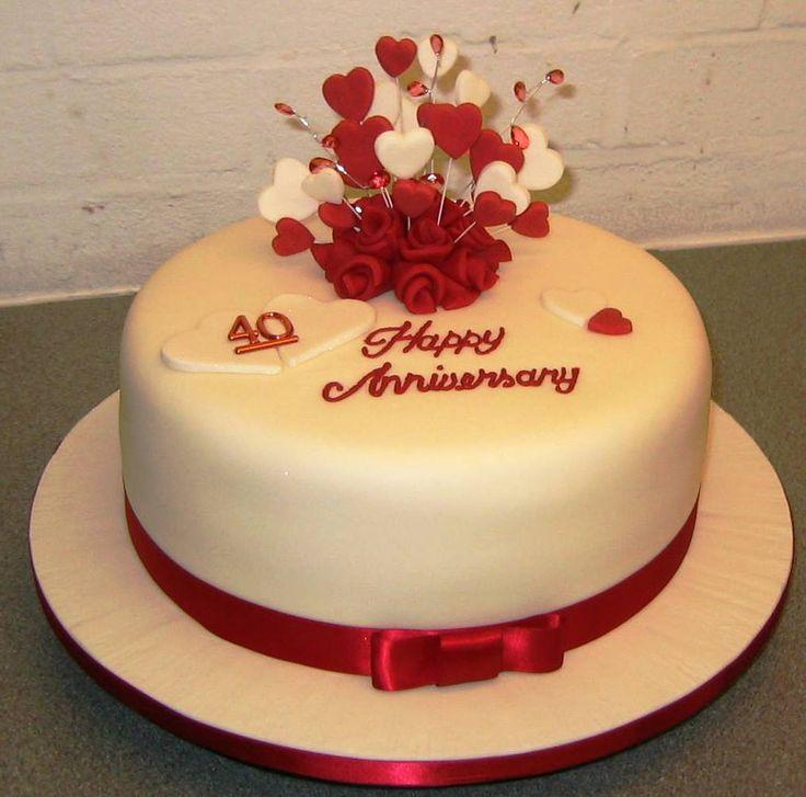 Best Anniversary Cakes Ideas On Pinterest