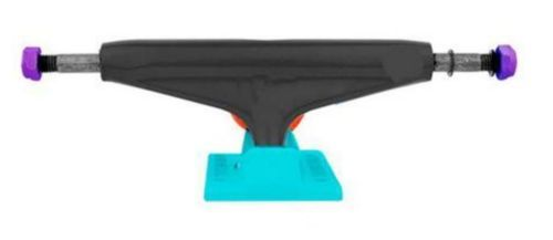 Other Skateboard Parts 159076: Industrial Black Turquoise 5.0 Skateboard Skate Trucks Free Delivery Australia BUY IT NOW ONLY: $59.99