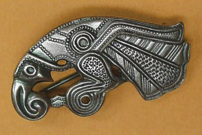 Viking VendelRaven Bird Brooch replica