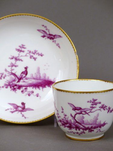 Tasse Bouillard en porcelaine de Sèvres du XVIIIe siècle
