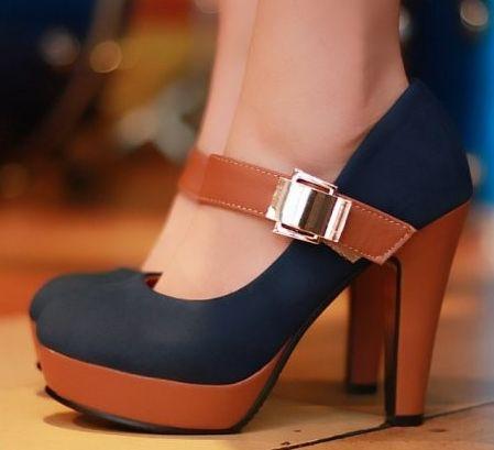 Women's Elegant Buckle Fashion Pumps