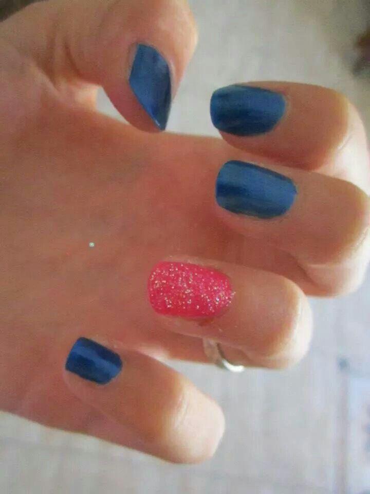 #ModE #me #roberta #blu #fuxia #unghie #nails  Seguimi, follow me: www.facebook.com/pages/ModE/40443306661391