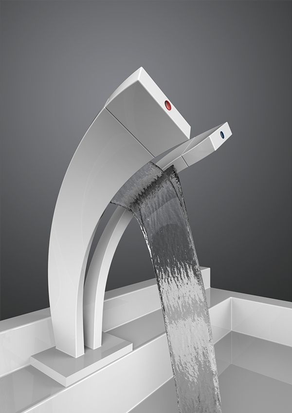 The Pavati Tap Offers An Ultra Modern And Minimalist