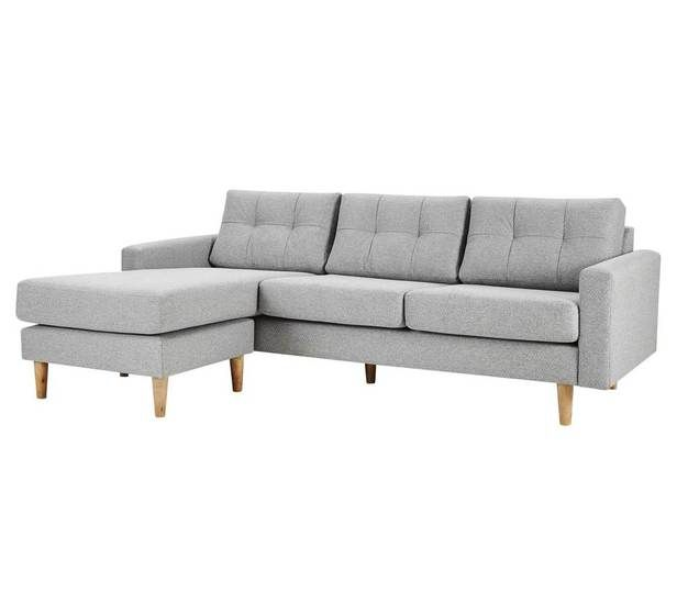 Jazz 3 Seater Chaise in 'mayer grey' $800