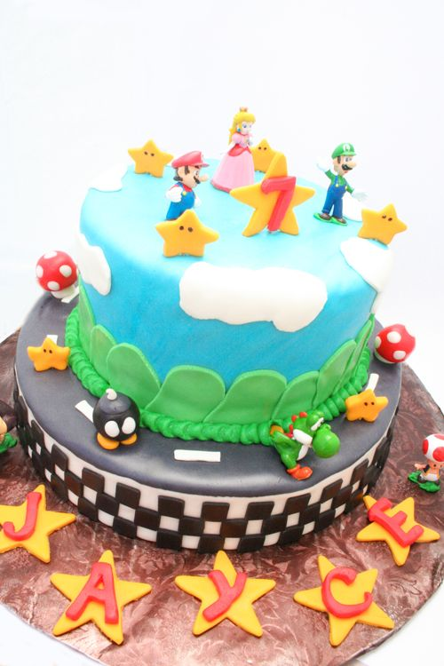 That's so cool! That'd be an awesome cake to have!