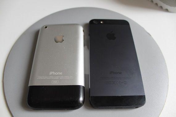 iPhone 2g & iPhone 5