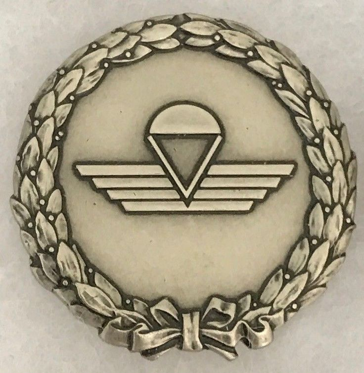 Swiss Air Force FSK 17 Parachute Reconnaissance Badge Switzerland Special Forces