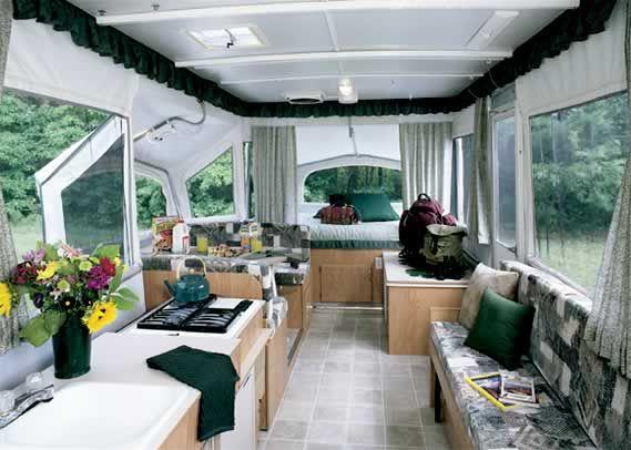 pop up tent remodels   2004 Jayco EAGLE