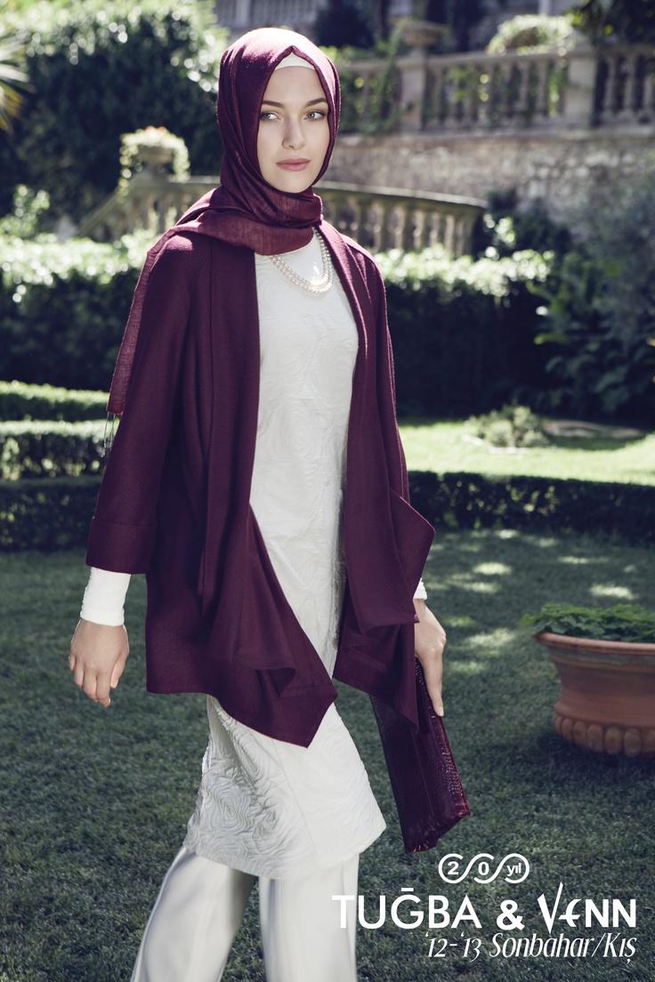 Tuğba & Venn '12-'13 Sonbahar/ Kış. Hijab. jacket / ceket