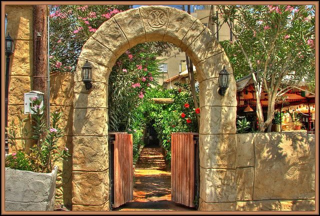 Syrian Club Restaurant Entrance | Flickr - Photo Sharing!