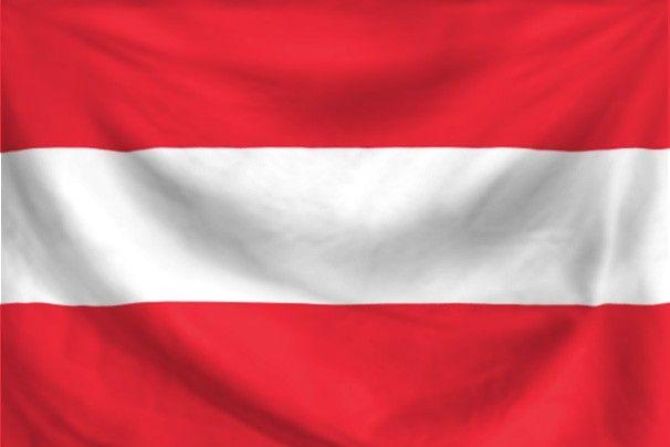 dit is de vlag van Oostenrijk.