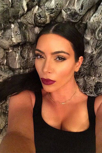 Happy Birthday Kim Kardashian! Celebrate reality star's 34th birthday with 34 of her most stylish selfies.