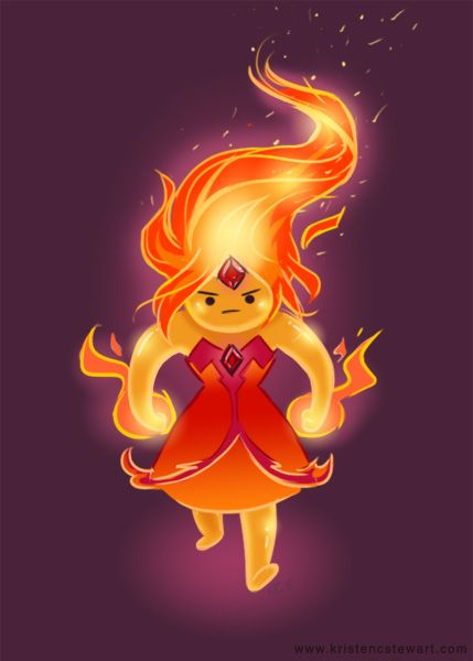 Flame Princess Adventure time by zefram found on reddit