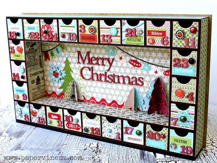 PaperVine: PaperVine Christmas Home Decor Projects