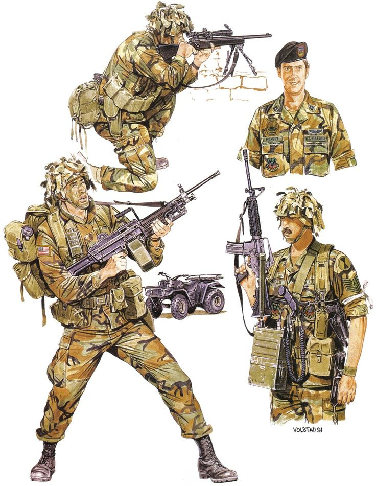 American Forces, Invasion of Panama Sniper, 1st Bde., 7th ...