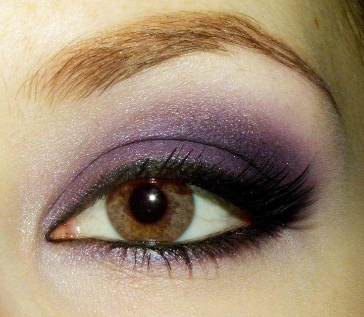 smoky eye: Brown Eyes, Make Up, Eye Makeup, Eyeshadow, Purple, Beauty, Eyemakeup, Smokey Eye