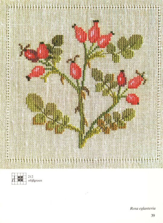 Gallery.ru / Фото #24 - Cross Stitch Pattern in Color - Mosca