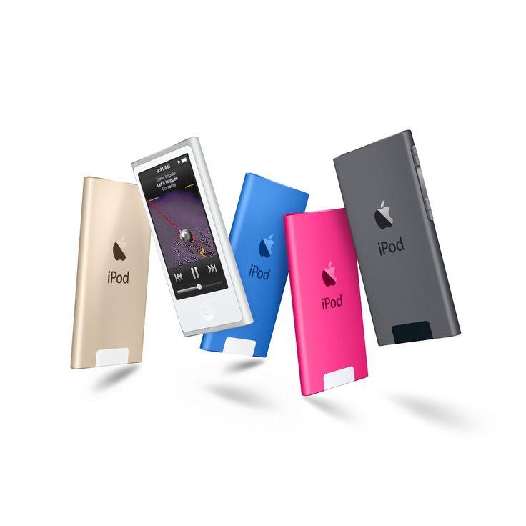 Apple (Saudi Arabia) - iPod nano with Multi-Touch.