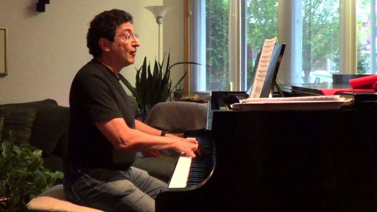 Tango - Niebla del Riachuelo - Izak Matatya, piano