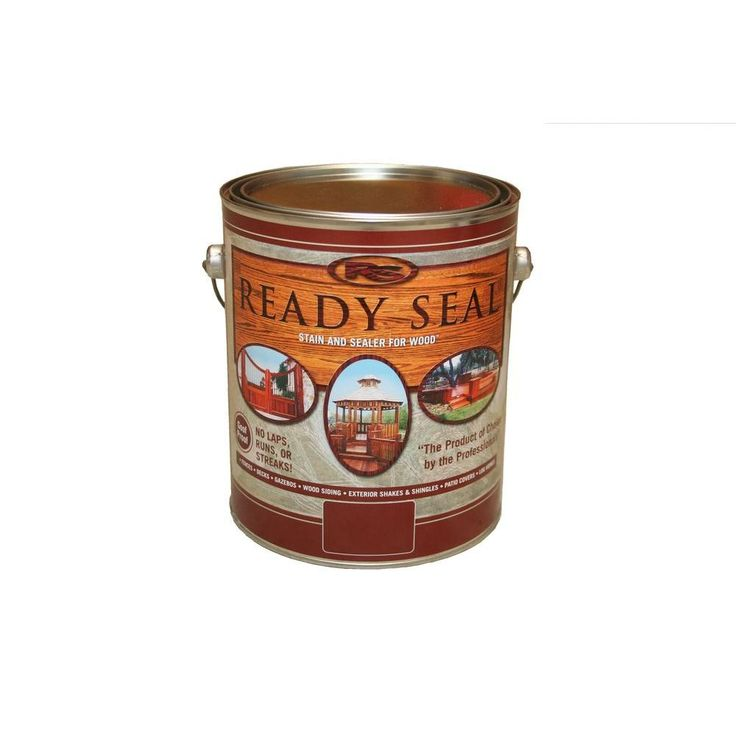 READY SEAL 1 gal. Light Oak Exterior Wood Stain and Sealer
