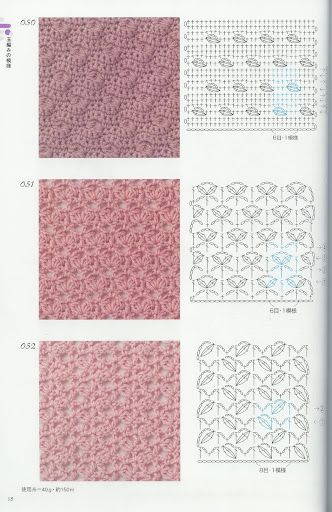 crochet pattern diagram
