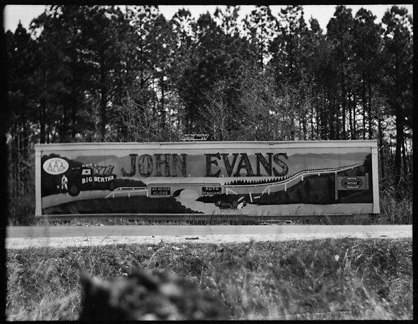 Walker Evans | [Billboard Advertising John Evans Auto Repair, South Carolina] | The Met