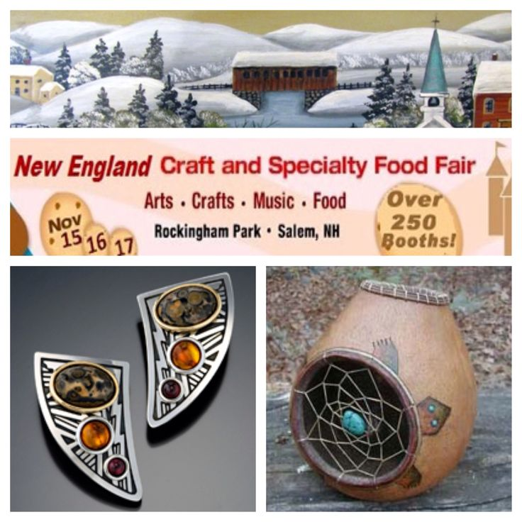 Join us for the 18th Annual New England Craft & Specialty Food Fair, held at Rockingham Park in Salem NH. #castleberryfairs  #gracescountrycorner #stevestamas #primitivetechnologies #craftfair #craftfestival #craftshow #salemnh #rockinghampark #holidaycrafts #americanmade #newengland #buylocal #shopamericanmade #supportlocalcraftsmen #handmade #juriedshow #fineartsandcrafts #painting #handmadejewelry #gourdart #dreamcatcher #handpainted #holidayshopping #giftideas #holidayevent