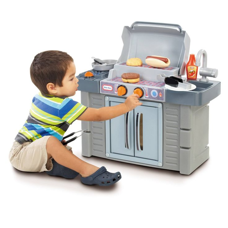 Little Tikes Cook And Grow BBQ Grill #Sponsored #Cook, #Ad ...