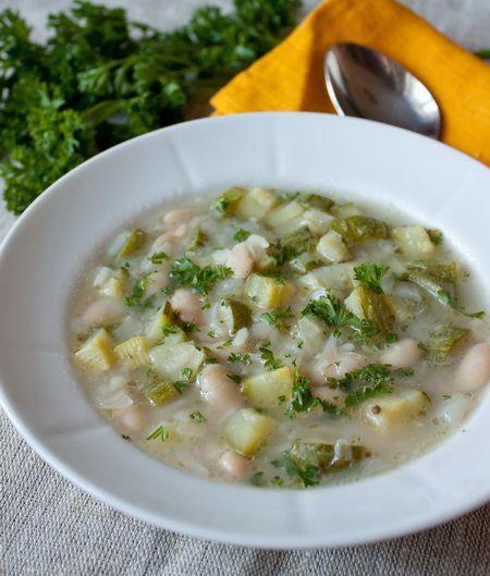 Радостно несу вам рецепт простого овощного супчика. Если хотите посытнее - готовьте его на курином бульоне. Если нужен вегетарианский вариант - на овощном. В обоих случаях он будет по-своему хорош  С фасолью в составе тоже можно поступить двумя способами - отварить самостоятельно или использовать консервированную - второй вариант сэкономит вам уйму времени, если что [...]