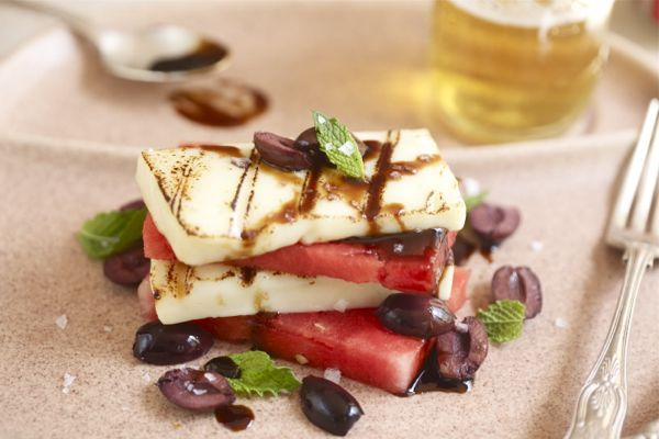 grilled halloumi and watermelon + 9 other delicious summer sides | Rainbow Delicious