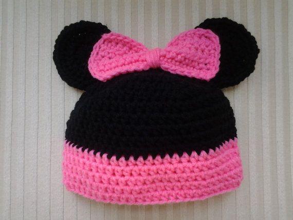 31 best Crochet - Hats - Mickey & Minnie images on Pinterest ...