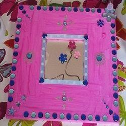 Stappenplan en makkelijke how to kinderfeestje spiegel versieren