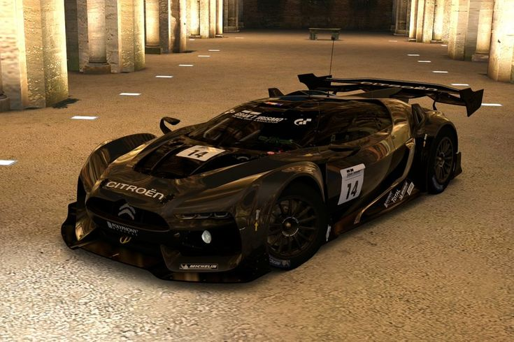 Citroen GT LM By GT Race Car Concept By Kevster823 On
