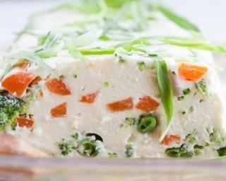 Terrine de fromage de chèvre aux légumes