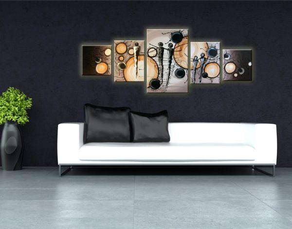 Modern stílusú otthonod tökéletes dekorációja - design festett vászonkép