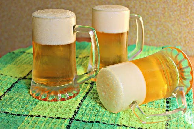 Przepisy Kulinarne: Galaretka z pianką - jak piwo.