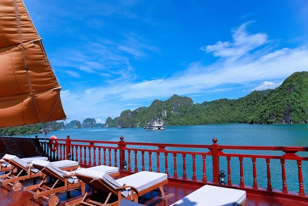 Luxury Travel Experiences- Cruising Cat Ba Archipelago